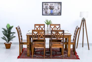 Audrey 6 seater dining set