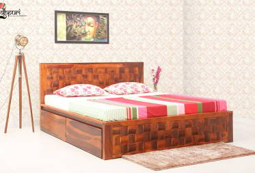 Kyra Bed with Drawer Storage
